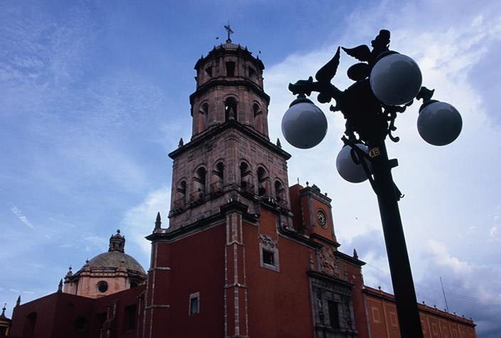 Recorrido en tranvia por Querétaro