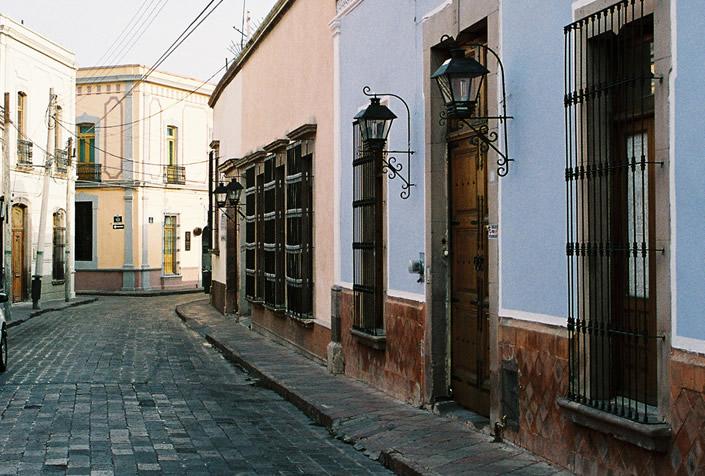Calles del centro histórico de Qro