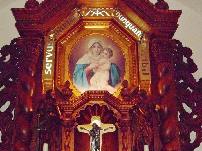 Virgen en Querétaro